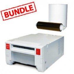 Mitsubishi CP-K60DW-S Printer Media Roll Bundle