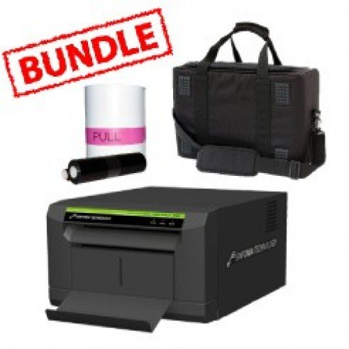 Sinfonia Color Stream CS2 Printer Media Roll and Carry Case Bundle