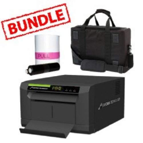 Sinfonia Color Stream PB2 Printer Media Roll and Carry Case Bundle