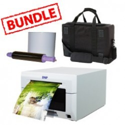 DNP DS620A Printer (DS-620A) Media Roll and Soft Carry Case Bundle