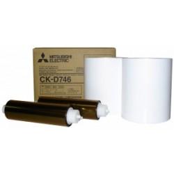 """Mitsubishi D70 / D707 / D90 4x6"""" Print Kit (CK-D746)"""