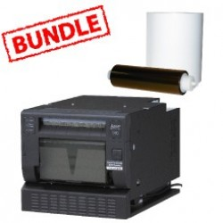 Mitsubishi CP-D90DW Printer Media Roll Bundle